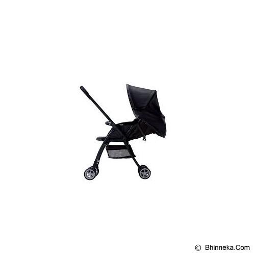 APRICA Karoon [92551] - Multi Dot Black - Stroller / Kereta Dorong Bayi